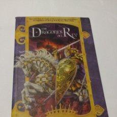 Libros de segunda mano: LOS DRAGONES DEL REY DE KATE ELLIOT COLECCIÓN FANTASIA DE LA FACTORIA DE IDEAS. Lote 67450185