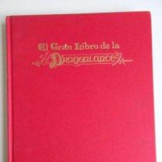 Libros de segunda mano: EL GRAN LIBRO DE LA DRAGONLANCE, EDICIÓN DE MARY KICHOFF, TIMUN MÁS, INTERIOR IMPECABLE, 1990. Lote 68246197