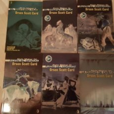 Libros de segunda mano: ORSON SCOTT CARD - ALVIN MAKER 1 AL 6 COMPLETA. Lote 68366065