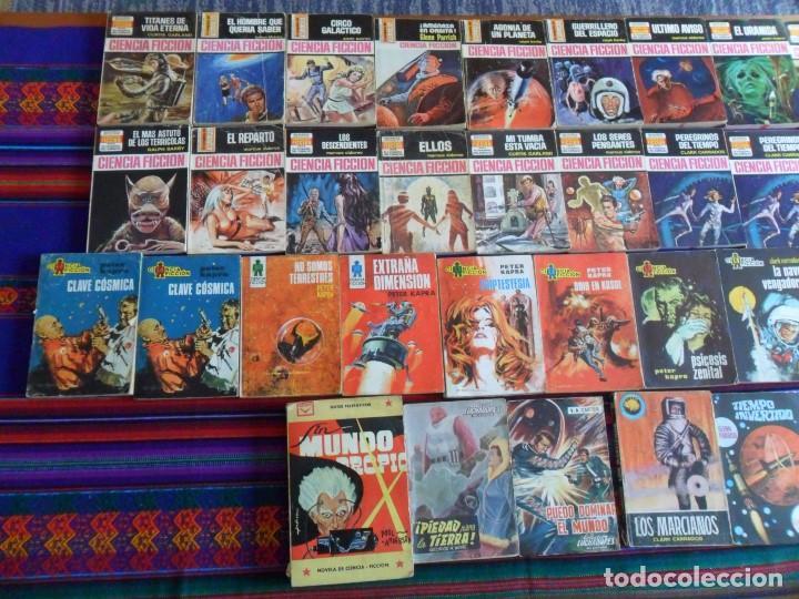 Libros de segunda mano: LOTE 33 CIENCIA FICCIÓN BOLSILIBROS BRUGUERA TORAY CENIT CONQUISTA ESPACIO MUNDO FUTURO LUCHADORES. - Foto 3 - 68661865