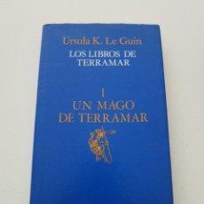 Libros de segunda mano: URSULA K LEGUIN CIENCIA FICCION FANTASIA LOS LIBROS DE TERRAMAR I. Lote 190838990