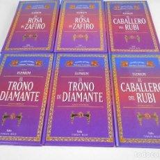 Libros de segunda mano: ELENIUM. DAVID EDDINGS. LOTE DE 6 LIBROS. GRANDES AUTORES DE LA LITERATURA FANTASTICA. FOLIO / TIMUN. Lote 69188917