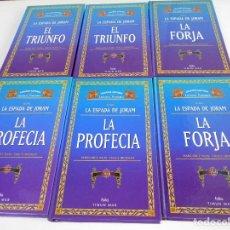Libros de segunda mano: LA ESPADA DE JORAM. MARGARET WEIS - TRACY HICKMAN. LOTE DE 6 LIBROS. GRANDES AUTORES DE LA LITERATUR. Lote 69199597