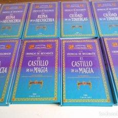 Libros de segunda mano: CRONICAS DE BELGARATH. DAVID EDDINGS. LOTE DE 8 LIBROS. GRANDES AUTORES DE LA LITERATURA FANTASTICA.. Lote 69209621