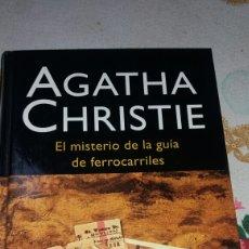 Libros de segunda mano: EL MISTERIO DE LA GUÍA DE FERROCARRILES DE AGHATA CHRISTIE. Lote 69279111