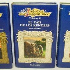 Libros de segunda mano: PRELUDIOS DE LA DRAGONLANCE 1ª TRILOGIA,EL GUARDIÁN DE LUNITARI,EL PAIS DE LOS KENDERS,LOS HERMA..... Lote 69790161