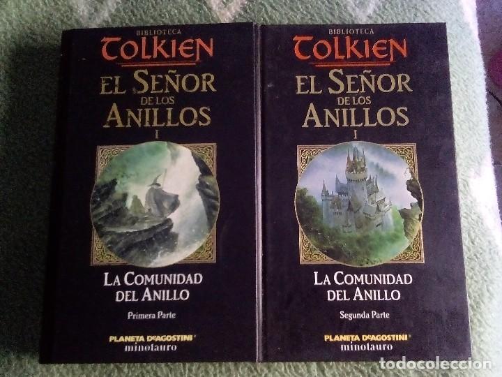 BIBLIOTECA TOLKIEN - EL SEÑOR DE LOS ANILLOS - LA COMUNIDAD DEL ANILLO (Libros de Segunda Mano (posteriores a 1936) - Literatura - Narrativa - Ciencia Ficción y Fantasía)