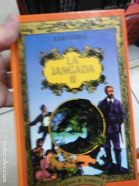 LIBRO LA JANGADA II JULIO VERNE 1963 ED. LEGASA L-6611-252 (Libros de Segunda Mano (posteriores a 1936) - Literatura - Narrativa - Ciencia Ficción y Fantasía)