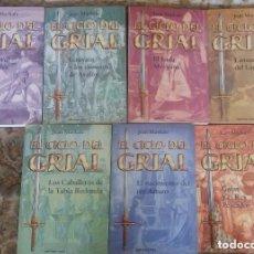 Libros de segunda mano: EL CICLO DEL GRIAL DE JEAN MARKALE. 7 TOMOS. Lote 71657115