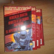 Libros de segunda mano: LA SANGRE DE KERENSKY-HERENCIA MORTAL-ASALTO A LA CIUDAD IMPERIAL-EL DESTIN DE LOS CLONES-BATTLETECH. Lote 45667902