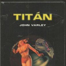 Libros de segunda mano: JOHN VARLEY. TITAN. EDHASA NEBULAE . Lote 72316771