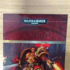Libros de segunda mano: FURIA ROJA LOS ANGELES SANGRIENTOS 3 DE JAMES SWALOW WARHAMMER 40.000. Lote 73535727