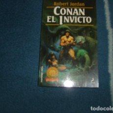 CONAN EL INVICTO . ROBERT JORDAN