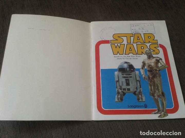 Libros de segunda mano: Libro lectura en Inglés -- STAR WARS -- Easy Reading Edition -- Longman, 1981 - Foto 3 - 74405243