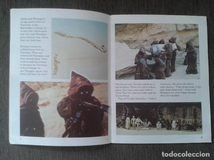 Libros de segunda mano: Libro lectura en Inglés -- STAR WARS -- Easy Reading Edition -- Longman, 1981 - Foto 4 - 74405243