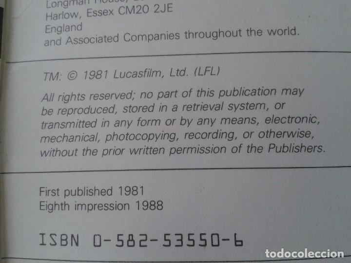 Libros de segunda mano: Libro lectura en Inglés -- STAR WARS -- Easy Reading Edition -- Longman, 1981 - Foto 6 - 74405243