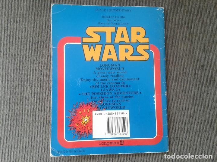 Libros de segunda mano: Libro lectura en Inglés -- STAR WARS -- Easy Reading Edition -- Longman, 1981 - Foto 7 - 74405243