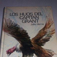Libros de segunda mano: ANTIGUO LIBRO LOS HIJOS DEL CAPITÁN GRANT 1969 ILUSTRADO. Lote 74943013