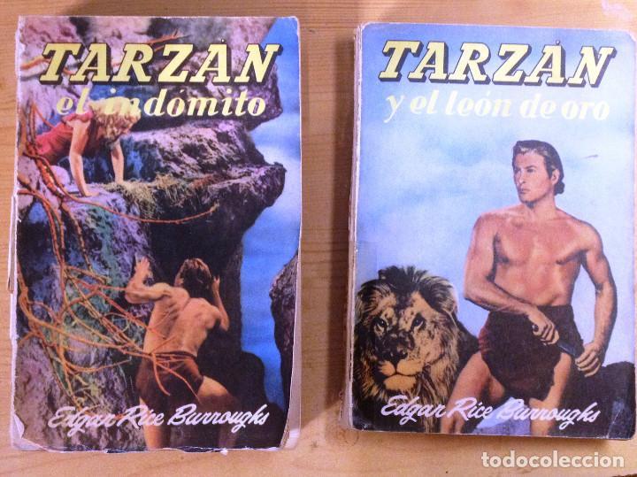 NOVELAS DE TARZAN- EDITORIAL GUSTAVO GILI- TERCERA EDICION- (Libros de Segunda Mano (posteriores a 1936) - Literatura - Narrativa - Ciencia Ficción y Fantasía)