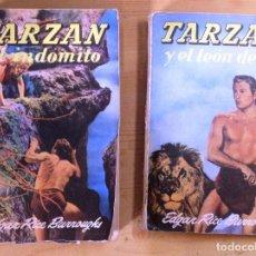 Libros de segunda mano: NOVELAS DE TARZAN- EDITORIAL GUSTAVO GILI- TERCERA EDICION-. Lote 75083139