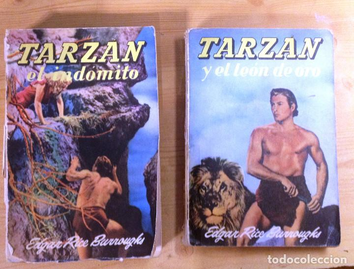 Libros de segunda mano: Novelas de TARZAN- EDITORIAL GUSTAVO GILI- TERCERA EDICION- - Foto 2 - 75083139