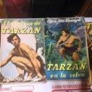 Libros de segunda mano: LOTE 4 NOVELAS DE TARZAN- 1956- EDITORIAL GILI-. Lote 75083339