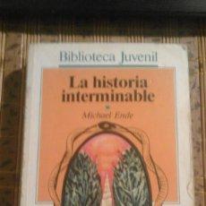 Libros de segunda mano: LA HISTORIA INTERMINABLE - MICHAEL ENDE. Lote 75647779