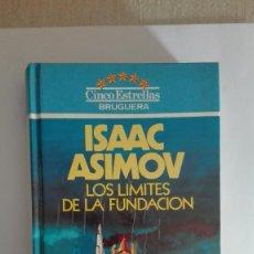 Libros de segunda mano: ISAAC ASIMOV LOS LIMITES DE LA FUNDACION BRUGUERA. Lote 76585191