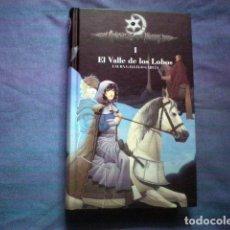 Libros de segunda mano: LIBRO EL VALLE DE LOS LOBOS Nº 1 CRONICAS DE LA TORRE LAURA GALLEGO ED SM TAPA DURA. Lote 228338540