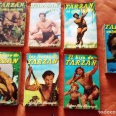 Libros de segunda mano: TARZAN 7 NOVELAS AÑO 1964 ED. GUSTAVO GILI EN BUEN ESTADO. Lote 77254757