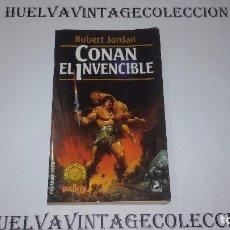 CONAN EL INVENCIBLE - ROBERT JORDAN - Nº 50