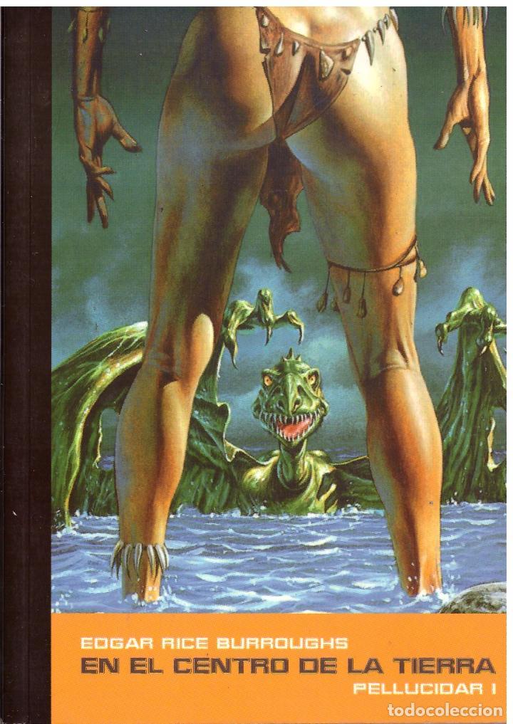 NOVELA EN EL CENTRO DE LA TIERRA (PELLUCIDAR 1) - EDGAR RICE BURROUGHS; PULP EDICIONES, OMEAN, Nº 14 (Libros de Segunda Mano (posteriores a 1936) - Literatura - Narrativa - Ciencia Ficción y Fantasía)