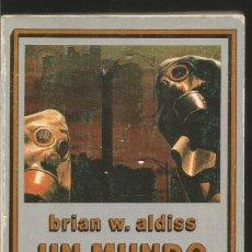 Libros de segunda mano: BRIAN W. ALDISS. UN MUNDO DEVASTADO. EDHASA CIENCIA FICCION NEBULAE. Lote 79124085