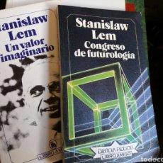 Libros de segunda mano: LOTE STANISLAW LEM. LIBRO AMIGO BRUGUERA. Lote 79759305