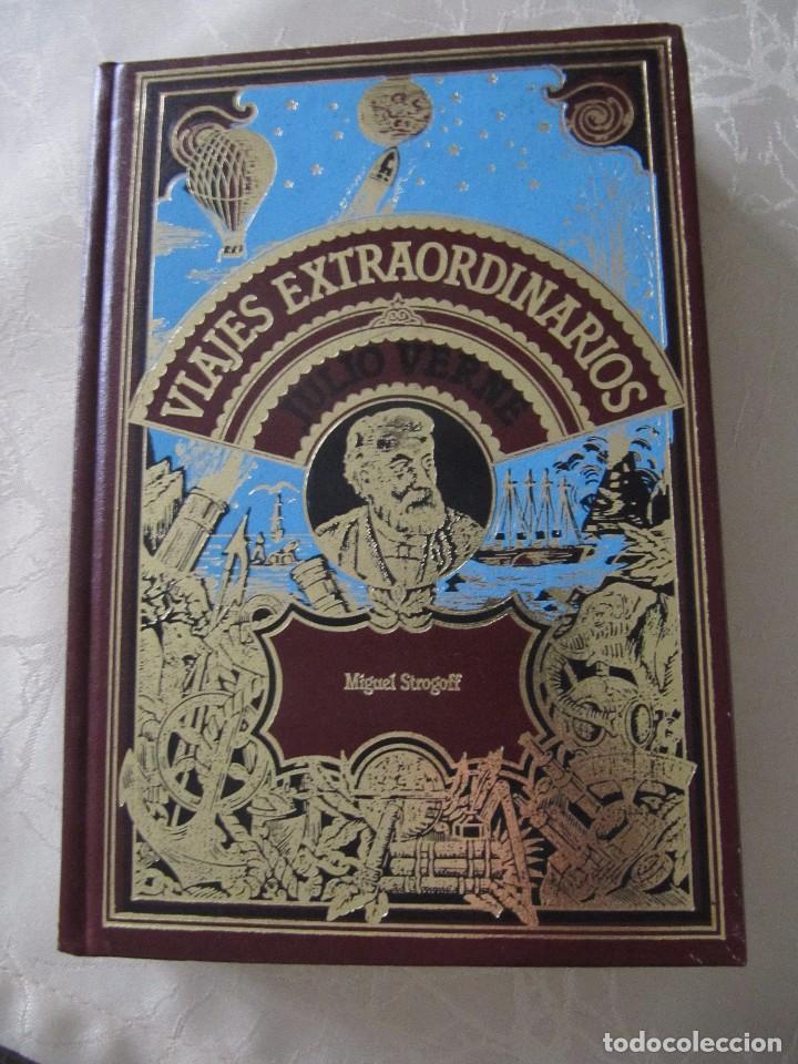 LIBRO VIAJES EXTRAORDINARIOS MIGUEL STROGOFF JULIO VERNE TAPA DURA 364 PAGINAS (Libros de Segunda Mano (posteriores a 1936) - Literatura - Narrativa - Ciencia Ficción y Fantasía)