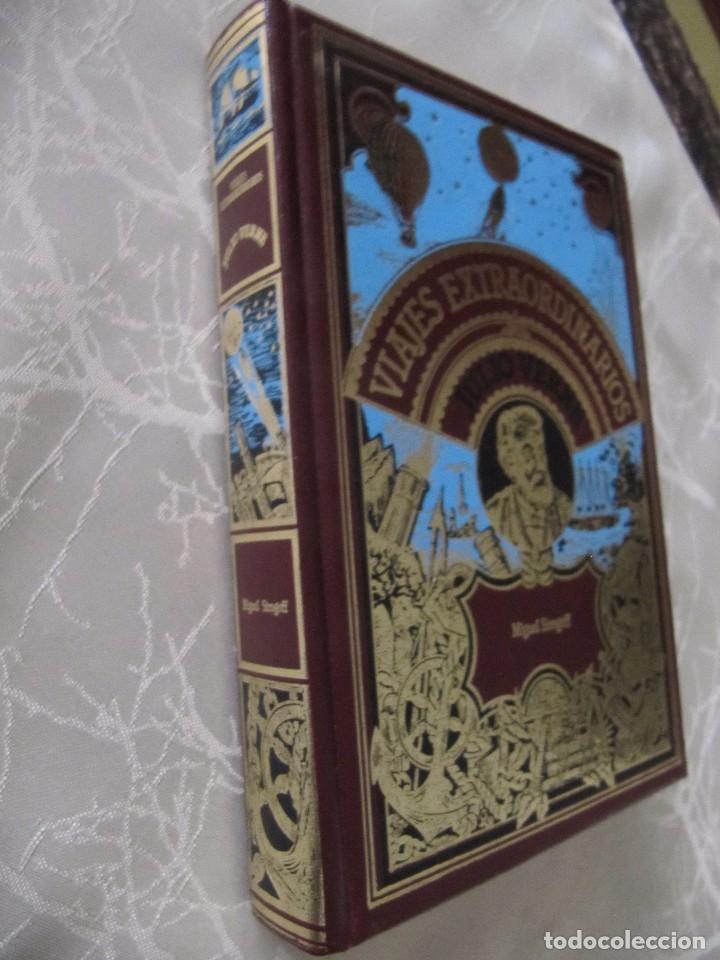 Libros de segunda mano: LIBRO VIAJES EXTRAORDINARIOS MIGUEL STROGOFF JULIO VERNE TAPA DURA 364 PAGINAS - Foto 2 - 80413557