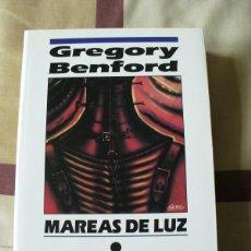 Libros de segunda mano: MAREAS DE LUZ - GREGORY BENFORD , NOVA - NUEVO. Lote 81116464