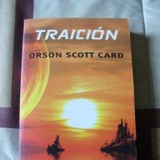 Libros de segunda mano: TRAICIÓN - ORSON SCOTT CARD - NUEVO. Lote 81119916