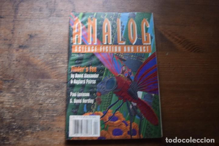 ANALOG, SCIENCIE FICTION AND FACT, WRITERS DIGEST, 1997 (EN INGLES) (Libros de Segunda Mano (posteriores a 1936) - Literatura - Narrativa - Ciencia Ficción y Fantasía)