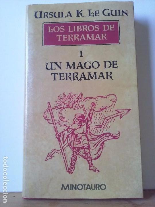 URSULA K. LE GUIN - LOS LIBROS DE TERRAMAR I: EL MAGO DE TERRAMAR. (Libros de Segunda Mano (posteriores a 1936) - Literatura - Narrativa - Ciencia Ficción y Fantasía)