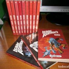 Libros de segunda mano: ISAAC ASIMOV´S REVISTA CIENCIA FICCION. 12 TOMOS. ISAAC ASIMOV - PICAZO/ EDITORS, S.A.,1979 COMPLETA. Lote 82914380