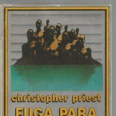Libros de segunda mano: CHRISTOPHER PRIEST. FUGA PARA UNA ISLA. EDHASA NEBULAE. Lote 83061944