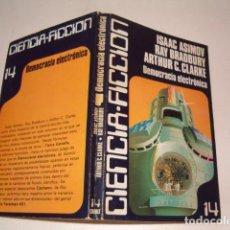 Libros de segunda mano - ISAAC ASIMOV, RAY BRADBURY, ARTHUR C. CLARKE. Democracia electrónica. RMT80273. - 85189012