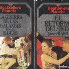 Libros de segunda mano: LA GUERRA DE LAS GALAXIAS Y EL RETORNO DEL JEDI - Nº 34, 22 - BESTSELLERS PLANETA - 1984.. Lote 85873912