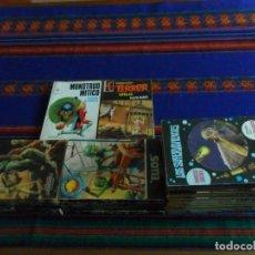 Libros de segunda mano: 52 NOVELA CONQUISTA DEL ESPACIO EXTRA HÉROES SU FUTURO LOTE AMPLIADO LUCHADORES Nº 1 MUNDO FUTURO.... Lote 36980739