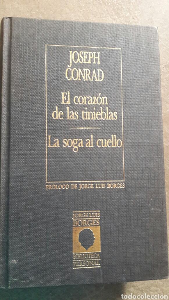 JOSEPH CONRAD. EL CORAZÓN DE LAS TINIEBLAS. (Libros de Segunda Mano (posteriores a 1936) - Literatura - Narrativa - Ciencia Ficción y Fantasía)