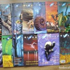Libros de segunda mano: GIGAMESH REVISTA DE CIENCIA FICCIÓN Y FANTASIA. Nº 11. Lote 146639042