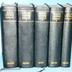Libros de segunda mano: NOVELAS ESCOGIDAS DE JULIO VERNE . TOMO I AL V. Lote 86411772