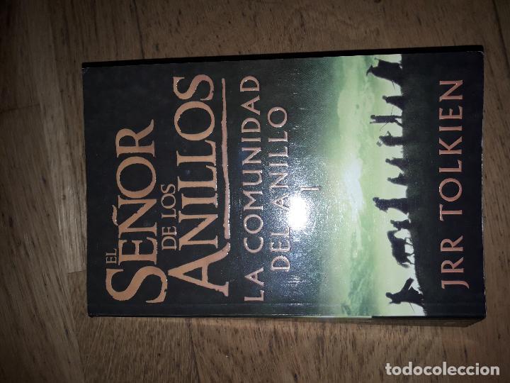 Libros de segunda mano: EL SEÑOR DE LOS ANILLOS - LA COMUNIDAD DEL ANILLO - JRR TOLKIEN - EDITORIAL MINOTAURO - Foto 2 - 34758418