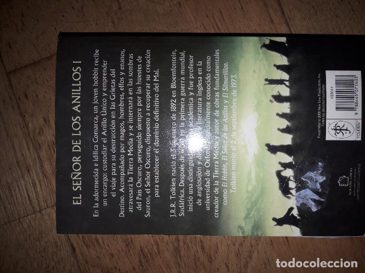 Libros de segunda mano: EL SEÑOR DE LOS ANILLOS - LA COMUNIDAD DEL ANILLO - JRR TOLKIEN - EDITORIAL MINOTAURO - Foto 3 - 34758418